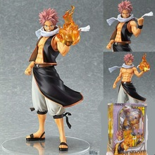 Fairy Tail Natsu Dragneel Original 24cm Boxed PVC Action Figure Model Toy Gift