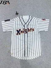 2017 New Roy Hobbs #9 New York Knights The Natural White Movie Stitched Baseball Jersey Button Down Throwback Mens Jerseys(China)