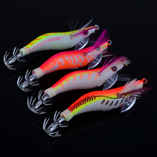 4pcs / lot Outdoor Fishing Lure Squid Jigs Exported to Usa Market Fishing Tackle 26.5g/13.5cm Fishing Bait FS(China)