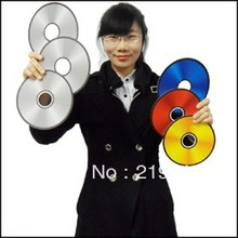 Free Shipping Chameleon CDS/Color Changing 3 Color CDs Magic Tricks