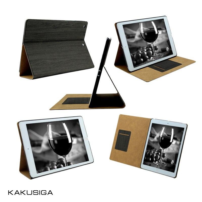 Brand Kaku For Apple iPad Mini 1 2 3 Tablet Case Smart Cover Ultra Slim All-Inclusive Wooden Grain PU Leather Case Flip Cover<br><br>Aliexpress