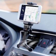 New Free shipping Adjustable Car Air Vent Mount Cradle Holder Stand For iphone Mobile Phone 360 Degree