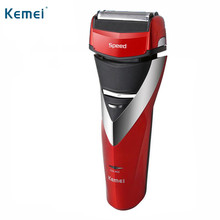 Kemei Men Electric Shaver Reciprocating Electric Razor Rechargeable Barber Shaving Machine EU Plug KM-8101(China)