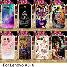 Buy TAOYUNXI Smartphone Cases Lenovo A316 4.0 inch A316I 316 Case Cute Animals Flowers Hard Back Cover Skin Hood Bag Shell for $1.68 in AliExpress store