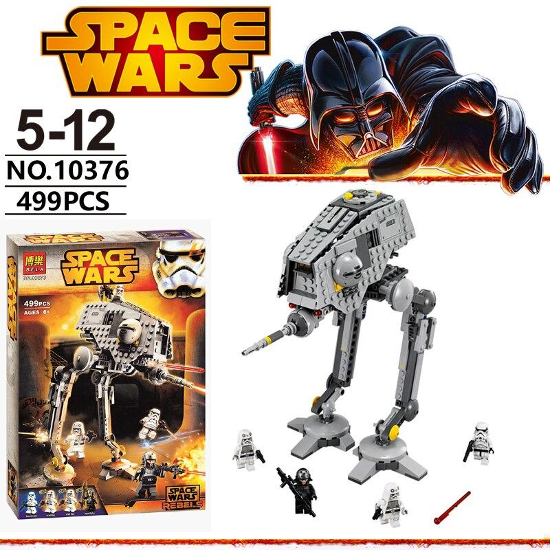 75083 Star WarsTM Rebels AT-DP 570 Piece Kids Building Playsetassembling building block toy BELA 10376 with 499PCS<br><br>Aliexpress