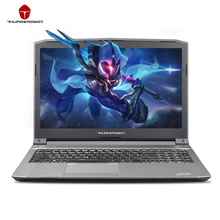 ThundeRobot ST-PLUS Gaming Laptops PC Tablets Nvidia GTX1050 Intel Core i7 7700HQ 15.6 Inch 8GB RAM 256GB SSD Silver Backlight(China)