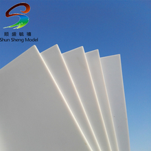 DWO-6.0mm Thickness 150mm x 250mm ABS Styrene Sheets White NEW