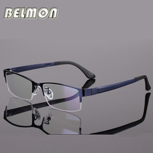 BELMON Spectacle Frame Eyeglasses Men Computer Optical Eye Glasses For Male Transparent Clear Lens Armacao Oculos de grau RS301
