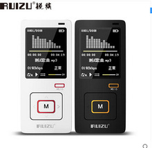 Original RUIZU X10 Sports HIFI MP3 player free music downloads media 8GB Can Play 40 HoursWith FM,Clock support 64gb TF card