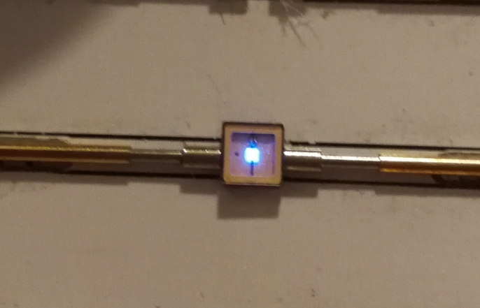 10pcs SMD 5050 280nm UV UVB ultra violet led diode for Sterilization 5-7v 40ma 0.2w<br>