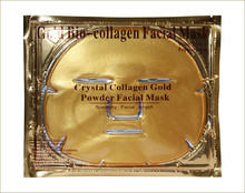 High Quality Facial Mask Gold Bio-Collagen Crystal Gold Powder Mask Collagen Face Mask Fast Moisturizing Wholesale(China)
