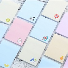 1 x fruit cartoon design 50 pages memo pad notes paper stickys notes post it notepad kawaii stationery papeleria school supplies