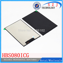 Original 8'' inch tablet pc LCD IPS screen Sensor digitizer HBS080ICG LCD display Replacement Free shipping(China)