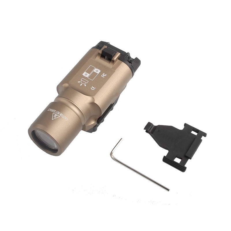 Tactical X300 LED Weapon light Flashlight Torch For Hunting Free Shipping HT8-0002-13