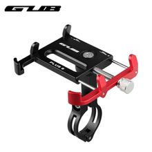 GUB Plus 6 360 Rotating Aluminum Mtb Bike Bicycle Phone Holder Motorcycle Support GPS Holder For Bike Handlebar Bike Accessories(China)