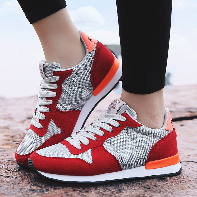 Lovers Casual Shoes for Lady Womens Lightweight Outdoor Footwear Summer Sapatos de caminhada Breathable Zapatos ocasionales<br><br>Aliexpress