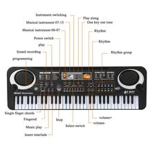 Electronic Piano Microphone 61 Key Kids Beginner Toys Gifts Educational