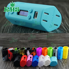 5pcs Reuleaux RX200 TC VW Box Mod Protective Sleeve Wismec Evolv DNA 200 Mod Silicone Case/Cover/Skin/Wrap Cover Free Shipping