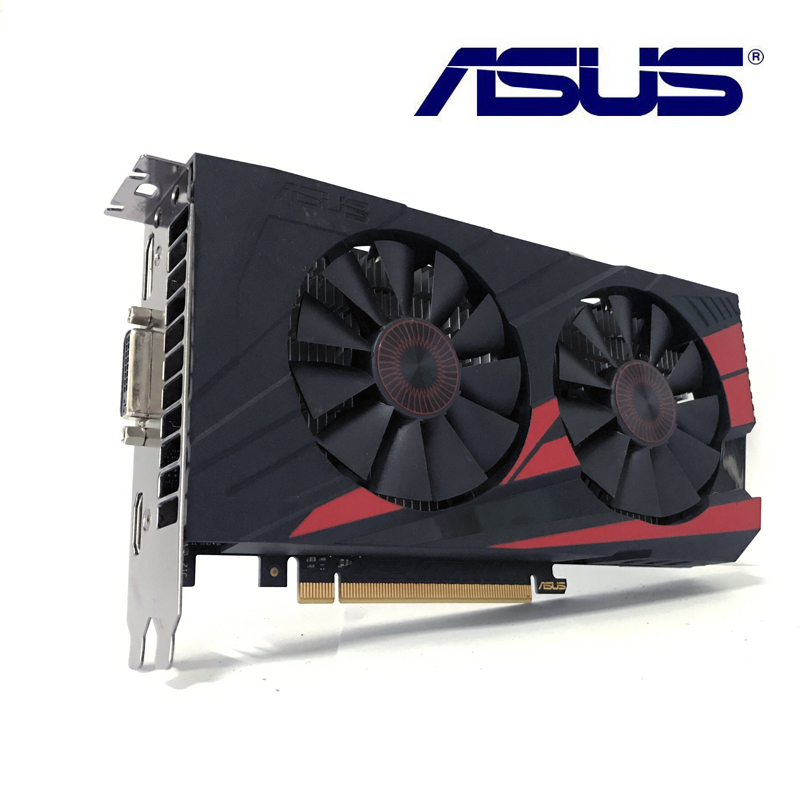 Asus GTX-950-OC-2GB GTX950 2G D5 DDR5 128 Bit   nVIDIA PC Desktop Graphics Cards PCI Express 3.0 VGA DVI HDMI