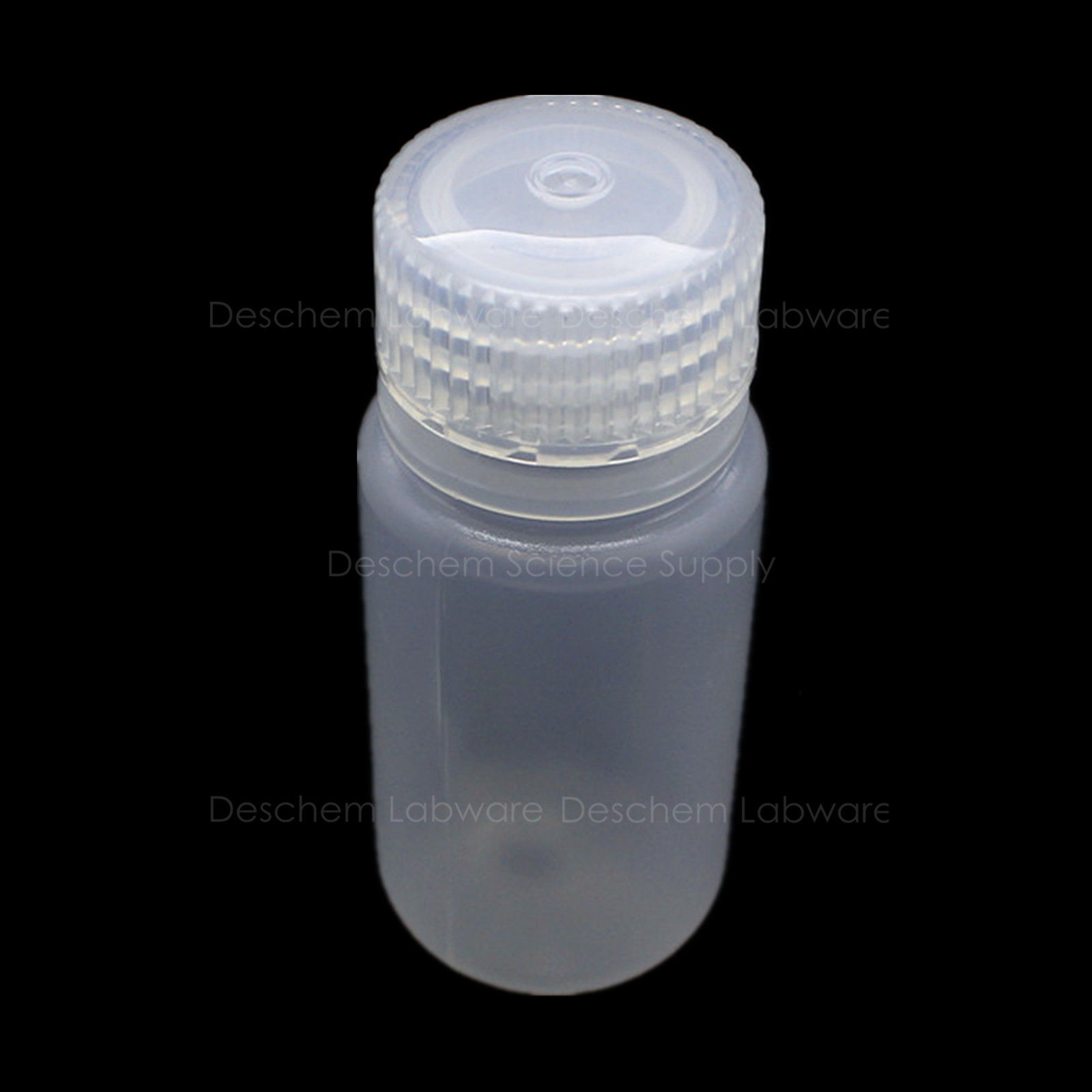 3Pcs 30mL PP Reagent Bottle Chemistry Polypropylene Sample Bottles With/Lid(China)