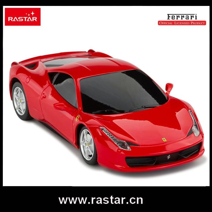 rastar licensed 124 ferrari 458 italia plastic vehicle electric rc toy car
