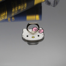 New Lovely Carton Phone Ring Holder Finger Hook Stands Hello Kitty Mickey Mouse Ring Holder Holder for Apple iPhone(China)