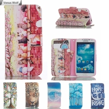 Flip Case for Samsung Galaxy S4 S 4 GT I9500 I9505 I9506 I9505G GT-I9500 GT-I9505 GT-I9502 GT-I9506 Phone Leather Cover Bags(China)