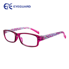 EYEGUARD Reading Glasses 4 Pair Quality Spring Hinge Stylish Readers Fashion Women Glasses for Readers(China)