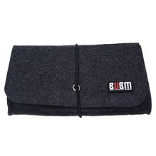 BUBM Felt Sleeve Case Bag Organizer Protection Pouch Cover For Wireless Bluetooth Computer Cell Phone Earphone Accessory Mouse(China)