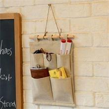 Storage Bag Hot Sale Hanging Bag Wall Door Holder Shoe 5 Pocket Storage Organizer Hanger Bag Wholesale Price