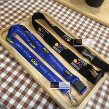 100pcs/lot wholesale promotional sublimation lanyards with your own brand logo by free shipping Fedex