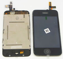 A lcd touch digitizer screen assembly part for iPhone 3g 3gs free shipping low cost good quality(China)