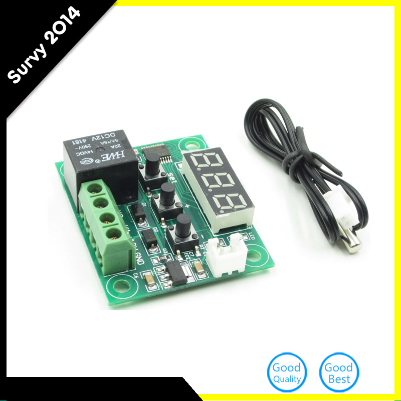 50-100 E-outstanding Temperature Controller DC 12V Digital Cooling//Heating Temp