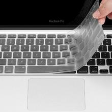 New Hot Sale Silicone  Keyboard Cover For Macbook Air Pro Retina 13 15 17 Protector for Mac book keyboard