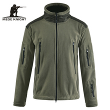 MEGE Brand Clothing Tactical Men Fleece Jacket Military Army Clothing Jacket Male Casual Coat for Autumn and Winter