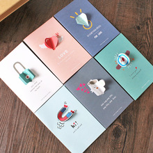 Love heart,watch,magnet,lock,Diamonds,coffee cup,Hollow Invitations,Christmas Postcards Greeting Birthday Message Cards,Kraft