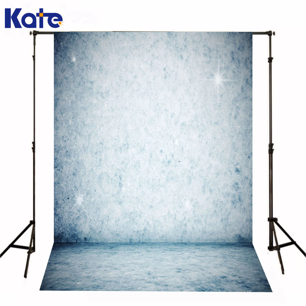 Kate Newborn Baby Fotografia Backdrops Shining Star Rough Photography Background  Lights Blue Wall Backdrop For Photo Shoot<br>