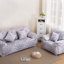 Universal Flower Sofa Cover Big Elasticity Couch Cover Elastic Stretch Loveseat Sofa Funiture Cover Machine Washable