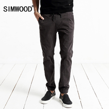 SIMWOOD 2017 New Autumn Winter  casual pants men harem pants fashion trousers Slim fit Brand Clothing   KX5520