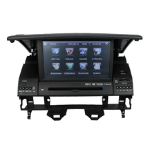 For wince Mazda 6 Car Radio player with GPS Navigation with steering wheel air condition on board computer display