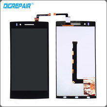 New Black For OPPO Find 5 X909 LCD Display Touch Screen Digitizer Full Assembly Replacement Parts