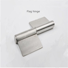 Free shipping fire door hinge hole door hinge shaft flag detachable detachable 2.1MM stainless one generation
