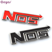 Car-Styling Auto 3D Metal Body Badge Emblems Sticker Case For NOS Fiat Bmw Ford Lada Audi Opel Toyota Volvo VW Mazda Car Styling(China)