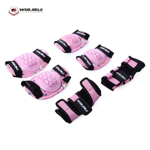 WINMAX 6pcs/Set Elbow Pads Knee Pads High Quality Children Protective Gear Wrist Hand Elbow Knee Pad For Skating Scooter Cycling