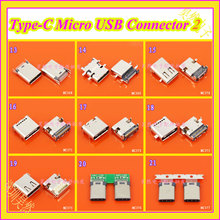 cltgxdd 1PCS High speed data interface micro 3.1 usb USB-C USB 3.1 Type C mother Socket Connector SMT type charging interface(China)