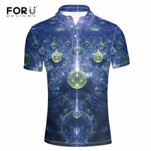 FORUDESIGNS Solid 3D Printing Men Polo Shirt Tommis 2017 Brand Mens Summer Casual Polos Homme Ralphmen Bodybuilding Elastic Polo