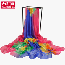 2017 Summer Popular Style Beach Pareo 200*140cm Large Size Summer Sheer woman Shawl scarves Bikini Sarong Scarf Cover Ups(China)