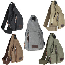 Men Sports Military Messenger Bag Outdoor Travel Rucksack Hiking Sport Chest Bag Canvas Small Crossbody Fanny Shoulder Back Pack(China)