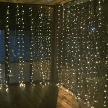 4.5Mx3M 300leds icicle led curtain string fairy light  Xmas Christmas Wedding Out home garden party garland decor 110V 220V