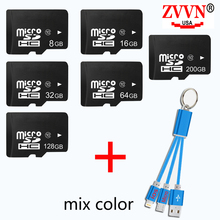ZVVN Micro SD Card 32 GB 16GB/64GB Class10 8GB Memory Card Flash Microsd for Smartphone 32G Memoria 128GB SDXC With hot Gift
